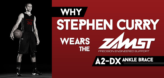 Why Stephen Curry Wears the A2-DX Zamst Ankle Brace